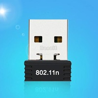 New Smallest USB Wireless Adapter 2.0/1.1 802.11n/g/b 2.4GHZ 150Mbps Wifi/WLAN nano mini SV001328 b008