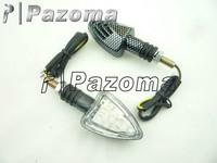 Pazoma Motorcycle LED Turn Signal Indicators for YAMAHA YZF R1 R6 FZ1 600R KAWASAKI ZXR ZX 6R 10R