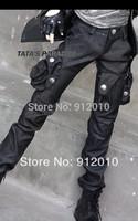 Wrinkled knee Tooling Sense  Pocket Pants For BJD 1/3 Uncle SSDF Doll SD Clothes