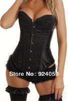 2014 New Spring 2014 women clothing sexy lady colorful corselet with G-string tassel bodysuit women waist training corsets size