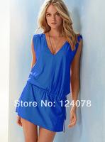 New Arrive Women Skirt Dress Swimwear Sexy Bikini Cover up Summer Beachwear 10 Colors