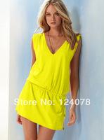 European Style One Piece Sports Swimwear Suits Women Mercerized Cotton Swimsuit Swimwear Beach Dress 10 Colors