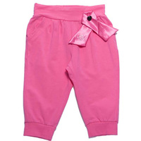 2014 New Free Shipping Girls Summer Shorts Baby Cute Half Capris with Bow Knot Design  K6351