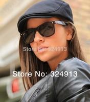 Unisex Light Grey Cotton Beret Flat Peaked Hat Cap Newsboy Driver Gatsby Flexfit FREE SHIPPING