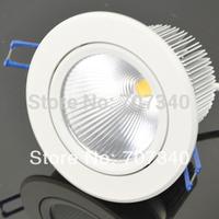 4'' 20W adjustment  downlight recessed led lamp  COB led lamp indoor home lighting