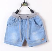 NEW  Hot sale Chilren denim shorts 2014 summer child brand jeans shorts, boys fashion jean short free shipping