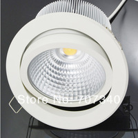 5'' 30W adjustment  recessed led downlight COB led lamp indoor home lighting