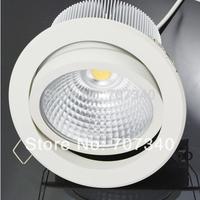 5'' 30W adjustment  recessed led downlight COB led lamp indoor home lighting