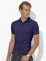 2014 paul short-sleeve men's clothing polo 100% cotton short-sleeve t-shirt cayuse scalar turn-down collar lovers short-sleeve