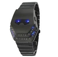 2014 Luxury Snake Led Watch Stainless Steel Fashion Men Binary Digital Sport Watch For Men ML0532