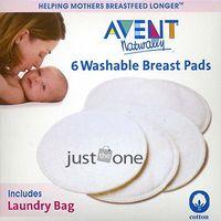 Hot Sale 6PCS Reusable Washable Breast Feeding Baby Nursing Pads Soft Cotton NEW