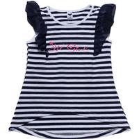 Free Shipping Kids Summer Clothing Girls Striped Vest Fashion Tops K6369