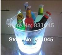 Acrylic ice bucket/ wine cooler /flash ice bucket, LED ice bucket /beer ice bucket /