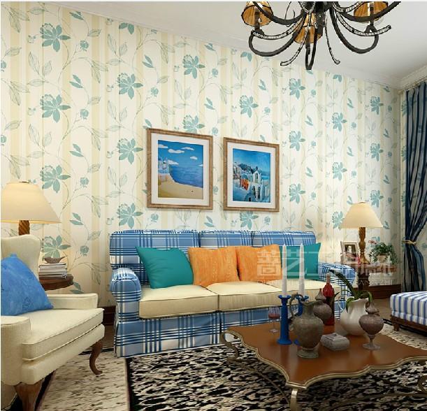 Woonkamer behang blauw gehoor geven aan uw huis - Beeld decoratie slaapkamer ...