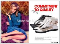 Freeshipping Best Selling Lady Brand Fashion Flats Women Fashion Flats Shoes Lady Flat Shoes 3 Colors EUR 35-42 ML1495-1