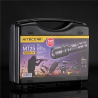1set Nitecore MT25 Hunting Kit CREE XP-G R5 LED 390 lumens with Battery and Charger + Free Shipping