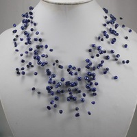 New Genuine Pearl Hand-woven Women's Gift Dancing Party Necklaces