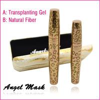 Angel Mask 300% Growth Eyelash Curling Waterproof Mascara Transplanting Gel with Natural Fiber Mascara 1Set=2Pcs