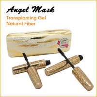 Wholesale 5set/lot Angel Mask 300% Extension Eyelash Waterproof Mascara Transplanting Gel+Fiber Mascara Set