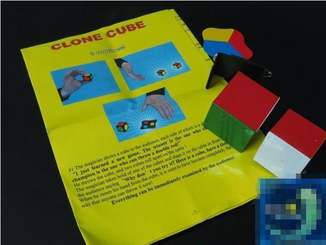 clone cube,magic cube,close up /stage magic tricks,card,Top quality(China (Mainland))