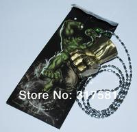 Cartoon Hero keychain Wholesale , metal jewelry , Hulk Fist necklace , necklaces, GIFT