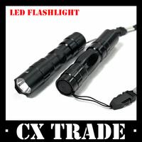 Free shipping New 10PCS/Lot mini LED flashlight waterproof small light belt key chain lamp #8192