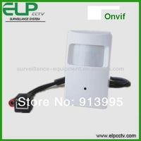 1.0 megapixel HD PIR hidden IP camera for office hotel school shop security from cctv camera manufacturer
