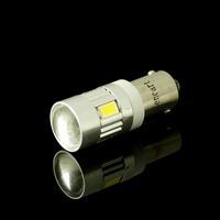 2pcs/lot BA9S 6 SMD 5730 LED White Car  Indicator Lamp Lights (12~14V)  1W 80lm 6200K  for good price wholesale shipping free