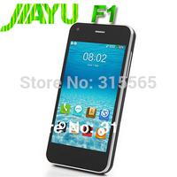 "JIAYU F1 WCDMA 3G In stock  MTK6572 Cual Core smartphone 512MB RAM 4GB ROM 5MP 4"" 800*480 TFT 2400mah Silicone case gift"