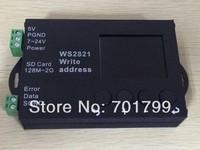 WS2821 DMX address writer, dmx editor, programmer