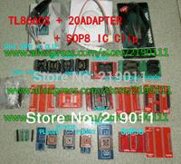 v6.0 TL866CS programmer +21 adapters +IC clip High speed TL866 AVR PIC Bios 51 MCU Flash EPROM Programmer