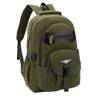 Z male backpack large capacity commercial travel bag canvas bag school bag laptop bag