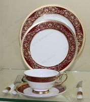 Fashion tableware bone china tableware gift lovers tableware practical gifts dish tableware gift
