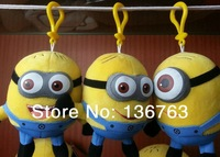 3PCS Cute Mini Minions 12cm Despicable Me2 Plush Toys Doll 3D Anime Minion Stuffed Toy for Children Birthday Gifts, Dropshipping