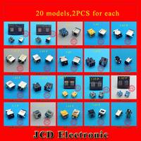 Free shipping for laptop DC jacks connector,laptop power socket DC jack for acer,20models,2PCS each,total 40PCS.