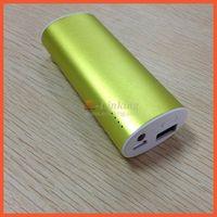 100% Premium battery Aluminium alloy shell yoobao power bank 5200mAh power bank free shipping