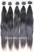 "New Arrival, 4pcs/lot, 12""-26"", Unprocessed 6A Brazilian Hair, Silky Straight, Virgin Human Hair, DHL Free Shipping"