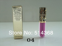 5pcs/lot high quality brand cc makeup lip pigment lip gloss cute lipglass pink lip gloss 12 color 10g free shipping