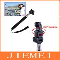 Photo Studio Accessories Telescoping Extendable Pole Handheld Monopod for camera Gopro Hero2/3