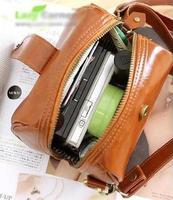 women vintage small bag , mini messenger bag PU leather coin purse fashion women simple shoulder bag ladies evening handbags