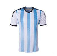 2014 New Soccer Sets ventilate shrink-proof soft Men Soccer Set National Team Jersey available fast free shipping