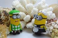 sale 100pcs Wholescale 2G/4G/8G/16G cartoon Despicable Me toy Minions Dave/Tim/Victory thief/Yellow man gift USB flash drive