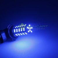 9006 HB4 68-SMD 3528 LED BLUE LIGHTS FOG DRL BULB