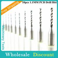 Durable 10pcs 3.175*1.1*10.5MM Drill Bit Tool, PCB Engraving Bit, CNC Carving Tools, Free Shipping