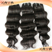 New gorgeous  remy human hair weave natural  deep wave  Brazilian human hair weft no shedding no dyed hair extension CB66