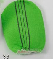 Free shipping wholesale high quality bath gloves, durable nylon bath glove