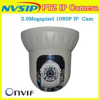 2.0Megapixel PTZ Ip Camera Onvif CMS Indoor Pan/Tilt Security Ptz Camera 1080P For Home Security System