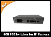 4CH POE Switcher For IP Network Camera With POE 35W  BQ-POESW04