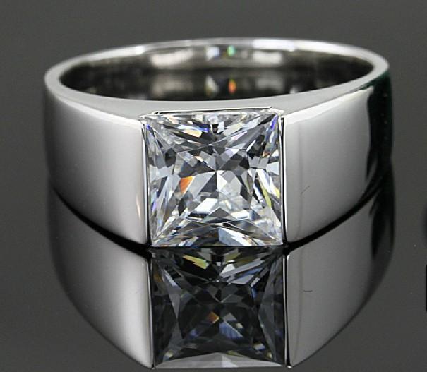 diamond ring for men wedding band engagement ring sterling silver men