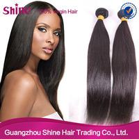 4pcs lot 5A Peruvian Virgin Hair Straight Hair Queen Weave Rosa Hair Products 100%human hair extension color #1b